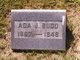 Profile photo:  Ada Joslin <I>Truitt</I> Budd