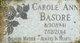 Profile photo:  Carol Ann <I>Basore</I> Basore