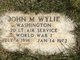Profile photo: 2LT John M Wyle