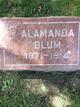 Profile photo:  Alamanda Blum