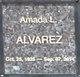 Profile photo:  Amada L Alvarez