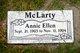 Annie Ellen McLarty