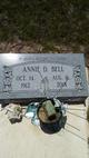 Profile photo:  Annie D Bell