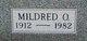 Mildred Olive <I>Schall</I> Blair