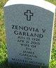 Profile photo:  Zenovia V. Garland