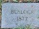 Profile photo:  Blalock