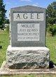 Profile photo:  Mollie <I>Grogan</I> Agee