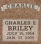 Profile photo:  Charles Edwin Briley, Jr