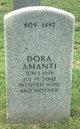 Profile photo:  Dora Amanti