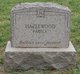Mrs Mary F. <I>Hazelwood</I> Adams