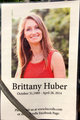 Profile photo:  Brittany Huber