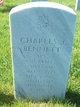 "Profile photo: SPC Charles James ""Chuck"" Bennett"