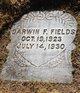 Profile photo:  Darwin Frances Fields