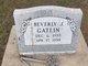 Profile photo:  Beverly J. Gatlin
