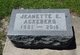 Profile photo:  Jeanette Evelyn <I>Hamilton</I> Ackeberg