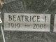 Profile photo:  Beatrice <I>Rudge</I> Ambroe