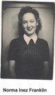 Norma Inez <I>Franklin</I> Lambertus