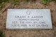Sgt Grant P Aaron