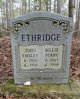 Profile photo:  Billie <I>Perry</I> Ethridge