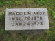 """Profile photo:  Margaret May """"Maggie"""" <I>Fenstermaker</I> Andy"""