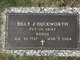 Profile photo:  Billy J. Duckworth
