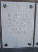 Profile photo:  John Warren Blosser