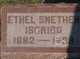 Profile photo:  Ethel <I>Snethen</I> Isgrigg