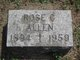 Rose Marie <I>Cannon</I> Allen