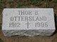 Thor B Ottersland