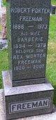 Gertrude Maria Barberie <I>Ogle</I> Freeman