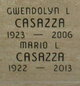 Profile photo:  Mario Louis Casazza
