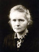 Profile photo:  Marie Curie