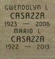 Profile photo:  Gwendolyn <I>Lewis</I> Casazza