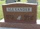 Wanda Lee <I>Birden</I> Alexander