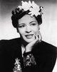 Profile photo:  Billie Holiday