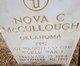 """Nova Claude """"Mac"""" McCullough"""