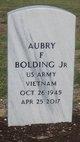 Profile photo:  Aubrey F Bolding, Jr
