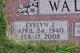 Evelyn J. Wallick