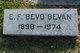 """Profile photo:  E. F. """"Bevo"""" Bevan"""