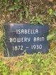 Profile photo:  Isabella M. <I>Bowery</I> Bain