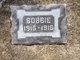 "Profile photo:  Robert ""Bobbie"" Hough"