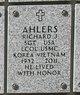 Profile photo:  Richard Joseph Ahlers