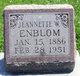 Profile photo:  Jeanette <I>Ewing</I> Enblom