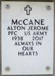 Profile photo:  Alton Jerome McCane