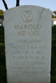 Profile photo: PFC Harold Adams