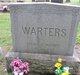 Profile photo:  Alva D. Warters