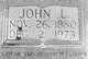 "John Leroy ""Johnny"" Hawkins"
