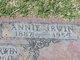 """Profile photo:  Anna """"Annie"""" <I>McGill</I> Irwin"""
