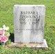 Barbara <I>Mayberry</I> Hawkins