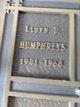 Lloyd D Humphreys
